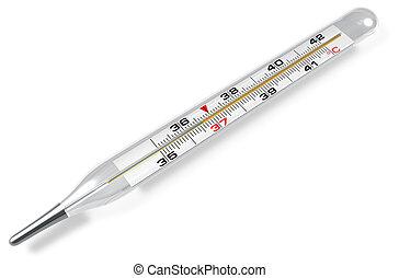medizin, thermometer