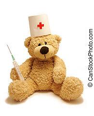 mediziner, teddy-bär