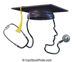 medizinische ausbildung, begriff