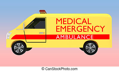 medizinischer notfall, begriff