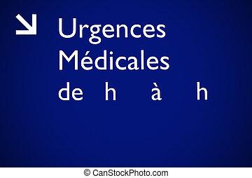 medizinischer notfall
