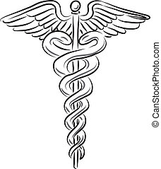 medizinisches symbol, abbildung
