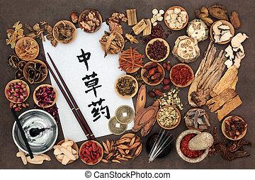 medizinprodukt, alternative, chinesisches