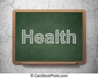 medizinprodukt, concept:, gesundheit, auf, tafel, hintergrund