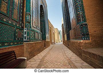 Samarkand - Medrese in ancient city Samarkand, Uzbekistan