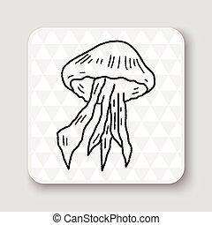medusa, garabato