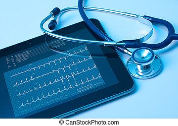 medycyna, i, nowa technologia
