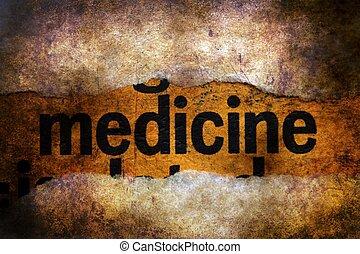 medycyna, tekst, grunge, tło