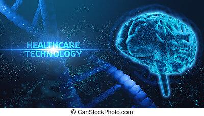 medyczne zdrowie, dane, patients., technologia, sztuczny, nowoczesny, healthcare, o, diagnosis., analiza, inteligencja, pomoc