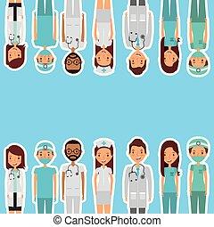 medyczne zdrowie, troska