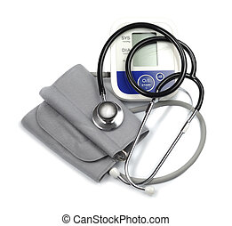 medyczny, kardiolog, komplet