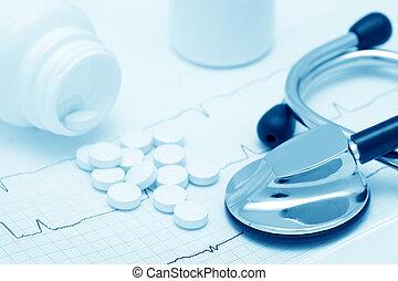 medyczny, nieruchome-życie