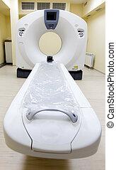 medyczny scanner, ct