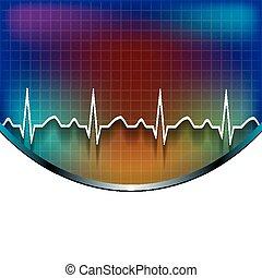 medyczny, tło, abstrakcyjny