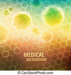 medyczny, tło