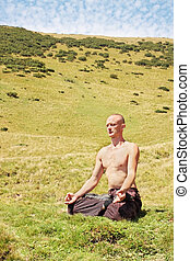 medytacja, człowiek