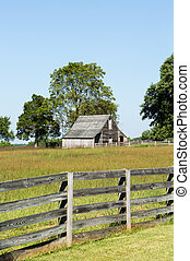 Meeks Stable at Appomattox park