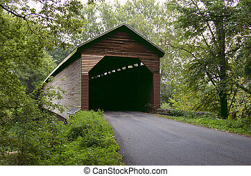 Meems Bottom Bridge in Virginia