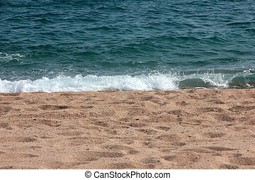 meer, sandstrand