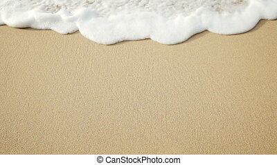 meer, welle, sand