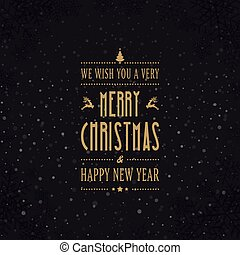 meery christmas card winter snowflakes background
