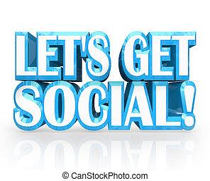 meet-up, conseguir, social, dejarnos, palabras, invitación, ...