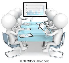 meeting., affari
