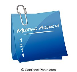 meeting agenda memo post