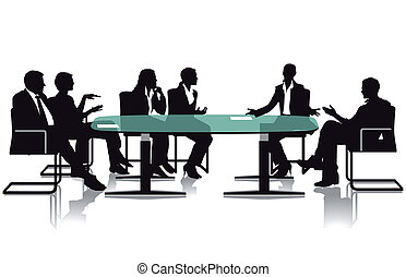 Meeting and debate