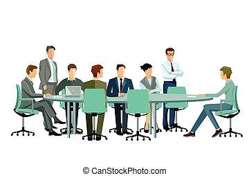 Meeting in der Gruppe.eps