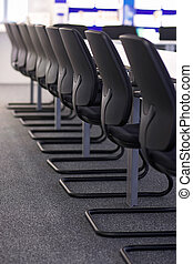 meeting room - Chairs in a conference room