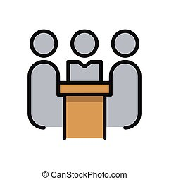 meeting room icon color