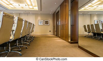 Meeting room in the premium class business center -...