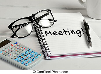 Meeting word