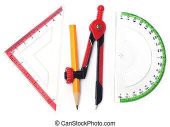 meetkunde, gereedschap