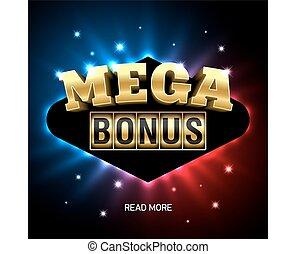 Mega Bonus casino banner