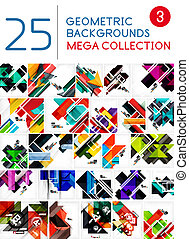 Mega collection of abstract backgrounds