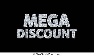 Mega Discount Blinking Text Wishes Particles Greetings,...