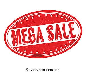 Mega sale stamp