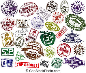 Mega Set Of Stamp