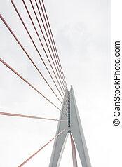 Mega sling and Elasticity of the bridge's string Bridge