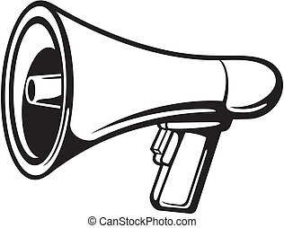 megafono, (bullhorn)