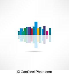 megalopolis, pictogram