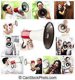 megaphone composition