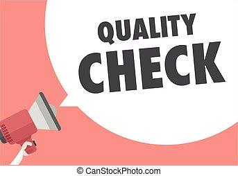 Megaphone Quality Check