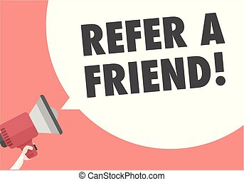 Megaphone Refer A Friend