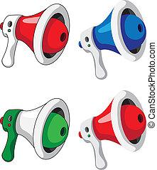 megaphone set