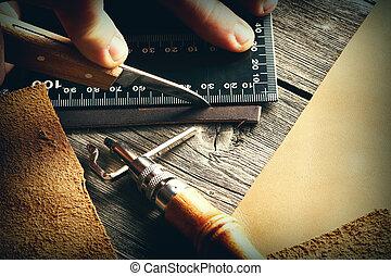 megkorbácsol, mesterkedő, eszközök