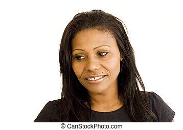 meglehetősen, black woman