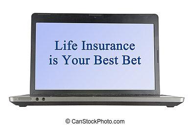 meglio, assicurazione, scommessa, tuo